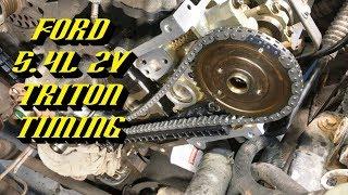 Ford 5.4L 2v Triton Engine: Complete Timing Walkthrough