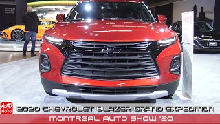 2020 Chevrolet Blazer Grand Expedition - Exterior And Interior - Montreal Auto Show 2020