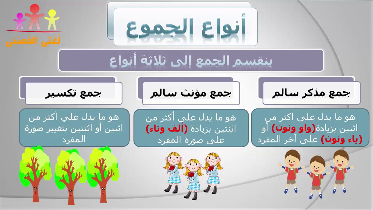 أنواع الجموع - أ / محمد آيات الله - YouTube