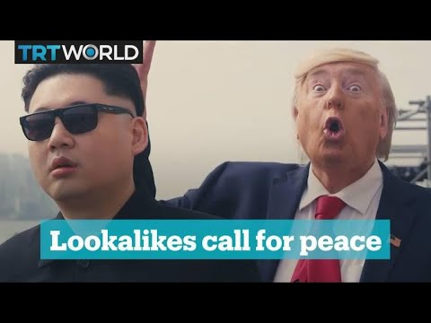 Lookalikes of Kim Jong-un and Donald Trump spotted in Seoul