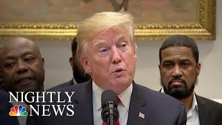 President Donald Trump Rolls Out Most Sweeping Prison Reform Agreement In Decades | NBC Nightly News