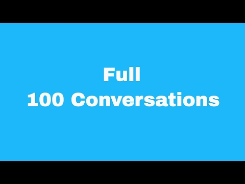 Full 100 English Conversations with subtitles | Easy Conversations | Beginners English