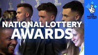 Take a look behind the scenes at The National Lottery Awards 2016
