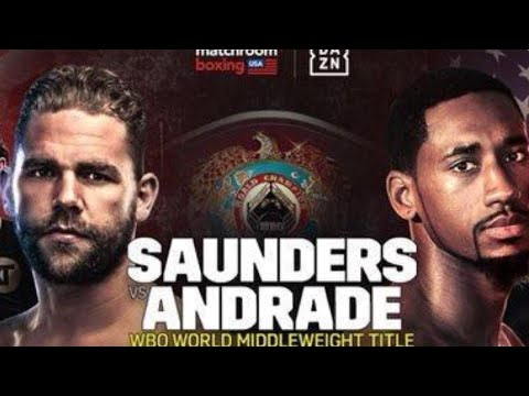 BREAKING NEWS: BILLY JOE SAUNDERS VS DEMETRIUS ANDRADE TO POSSIBLY BE ANNOUNCED MONDAY AFTER MANDATE