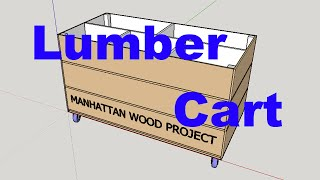 28 - Scrap Lumber Cart - Manhattan Wood Project