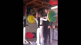 speed squats 145 4x6