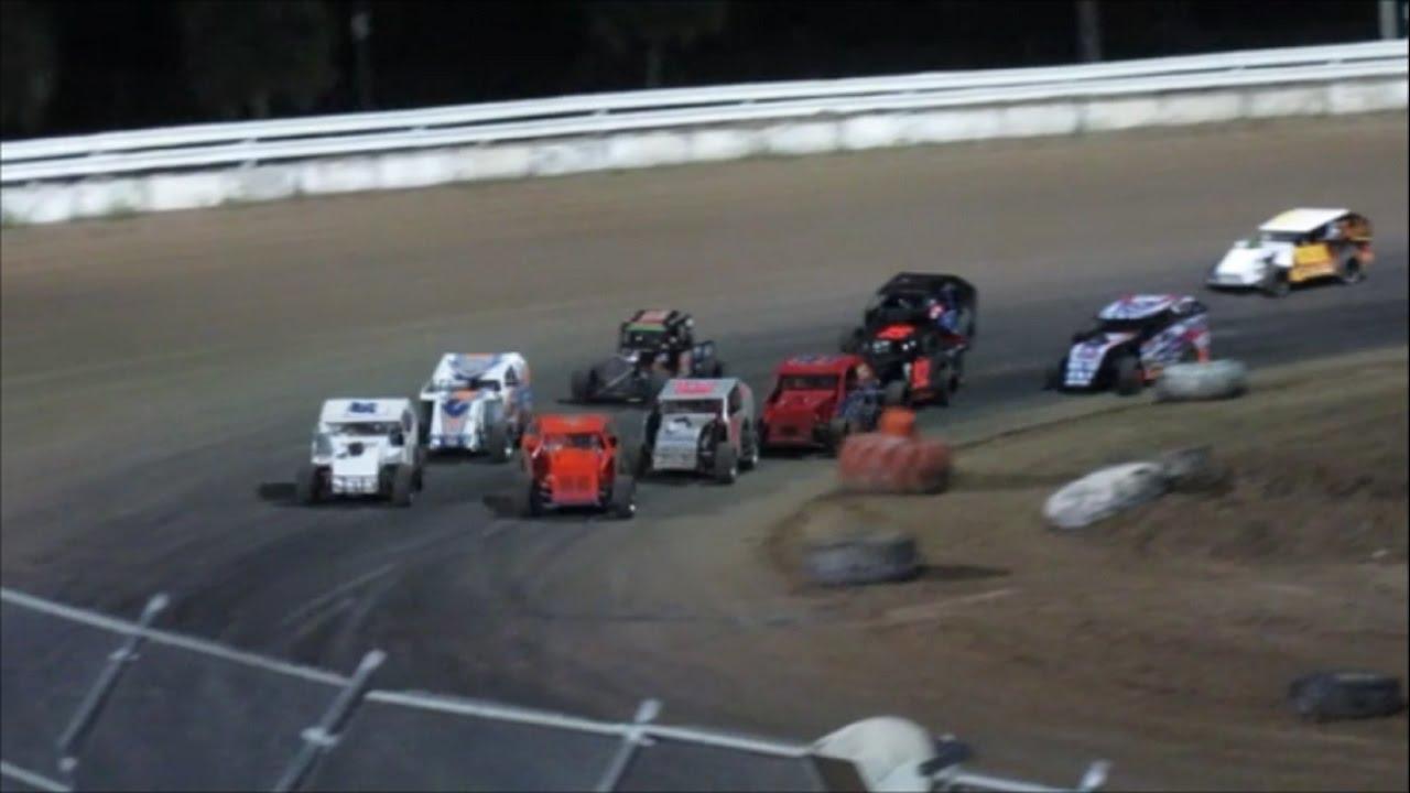Mod Lites | Feature Race | Bubba Raceway Park | 10-29-16