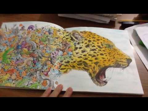 Animorphia - Completed Pages - YouTube