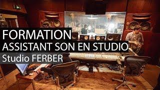 Formation assistant au studio Ferber