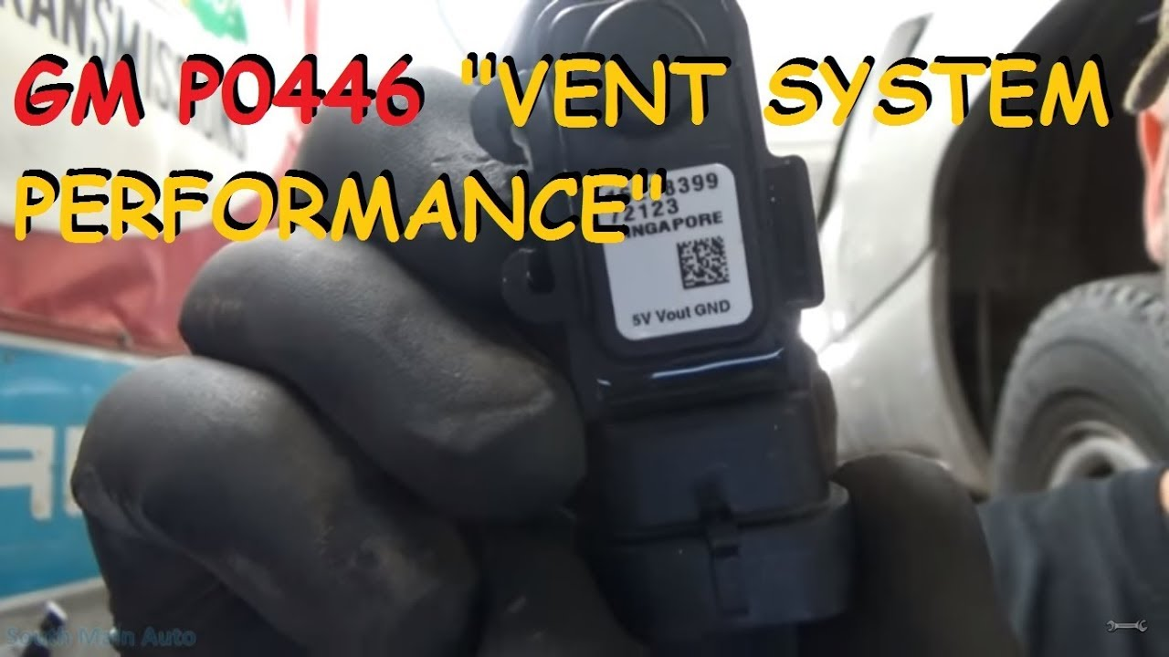 small resolution of chevy gmc p0446 evap system vent performance problem