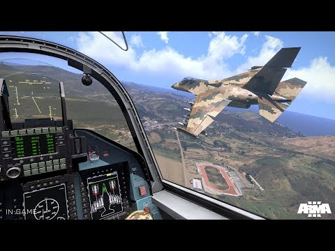 Awesome Simulation of Air Combat ! F-22 Raptor vs Russian T-50 PAK FA ! Stealth Fighters in Arma 3