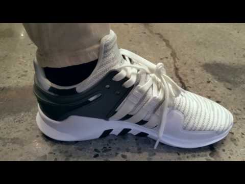 Latest New Released Adidas EQT Support ADV White Colorway + On Foot Full HD 2016