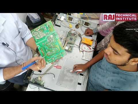Led TV Repair Practical Class LCD Led Repairing Course