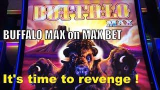 ★Revenge Completed☆BUFFALO MAX Slot machine $6.00 Max Bet @ San Manuel Casino☆彡