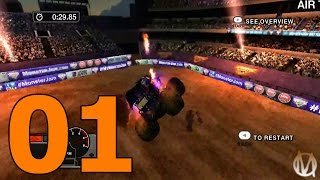 Monster Jam: Battlegrounds - Part 1 - Welcome (Xbox 360 Gameplay)