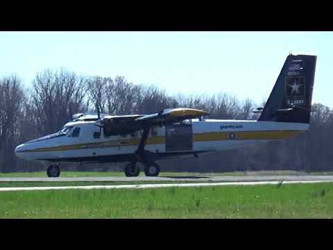 """Ultra Rare! Viking DHC-6-400 Twin Otter - """"US Army Paracute Team"""" - Takeoff"""