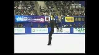 フィギュアスケートの全日本選手権第2日の22日、高橋大輔は会心の演...