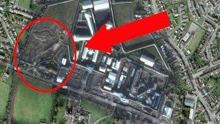 Orte, die Google Earth geheim hält