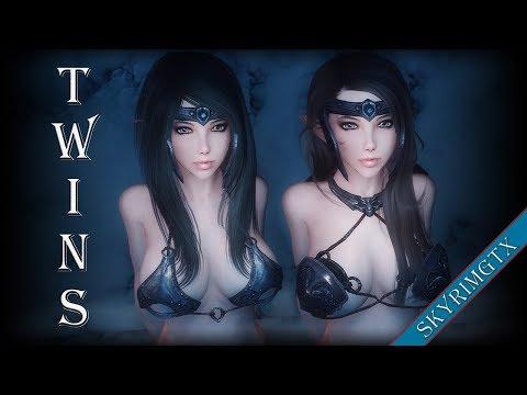 Skyrim: Bodyguard Twins - Cailyn & Kensley Follower 1.00