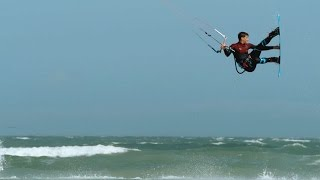 The Reigning King of the Air: Kiteboarder Aaron Hadlow