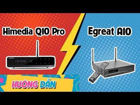 Đầu Karaoke Gia Đình Cao Cấp Hay Nhất Hiện Nay gây sốc nhất năm - Egreat A10 - Himedia Q10 pro
