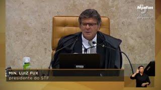 Fux diz que cumprirá promessa de atuação colegiada e por isso levou caso André do Rap ao plenário