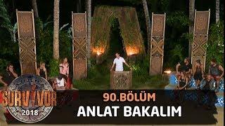 Anlat Bakalım oyununda eğlence dolu anlar! | 90. Bölüm | Survivor 2018
