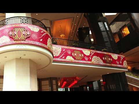 Hong Kong CNY Decoration - Central Plaza CNY Decoration 2015