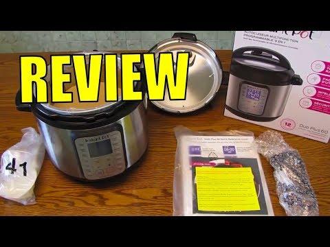 Instant Pot DUO Plus 60, 6 Qt 9-in-1 Review