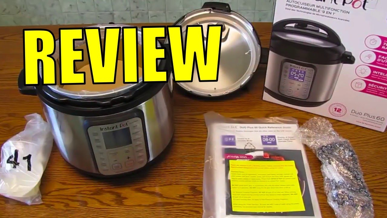 Instant Pot Duo Plus 60 6 Qt 9 In 1 Review Youtube