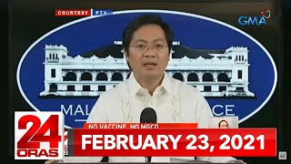 24 Oras Express: February 23, 2021 [HD]