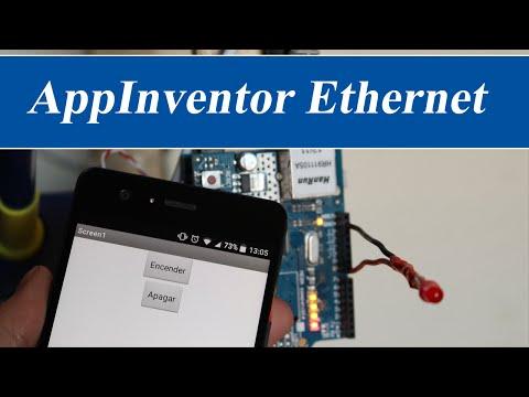 AppInventor y Arduino Ethernet