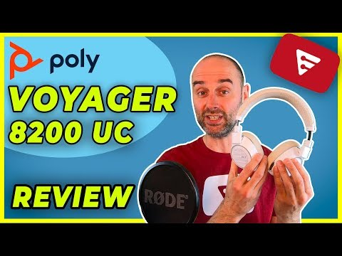 AURICULARES POLY (antes PLANTRONICS) VOYAGER 8200 UC REVIEW 2019