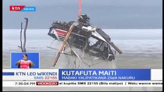 Kutafuta Maiti: Mabaki ya Ndege yapatikana Ziwa Nakuru