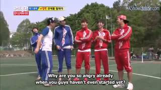 KJK getting angry when his team hasn't even done anything yet...poo...