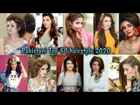 Pakistani Top 50 Braid And Cute Girls Party Hairstyle 2020 Youtube