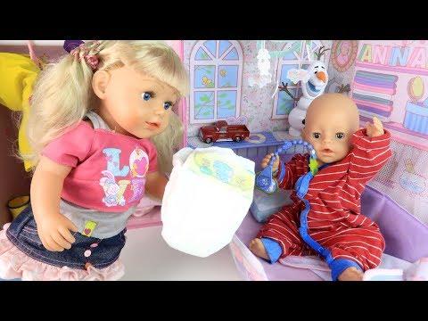 МИША НАДУЛ В КРОВАТКУ Куклы Пупсики #Бебибон Мультик Куклы Для девочек