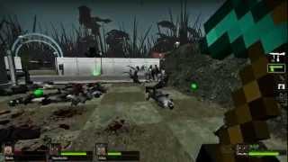 Plants vs. Zombies vs. Minecraft - Left 4 Dead 2 Mods