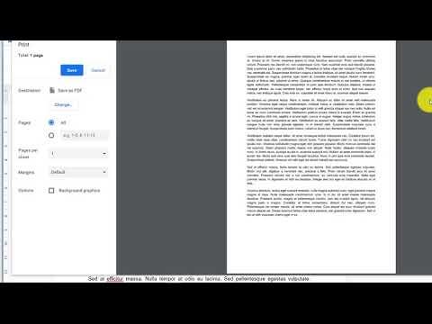 Как распечатать гугл документ (Google Doc) с комментариями
