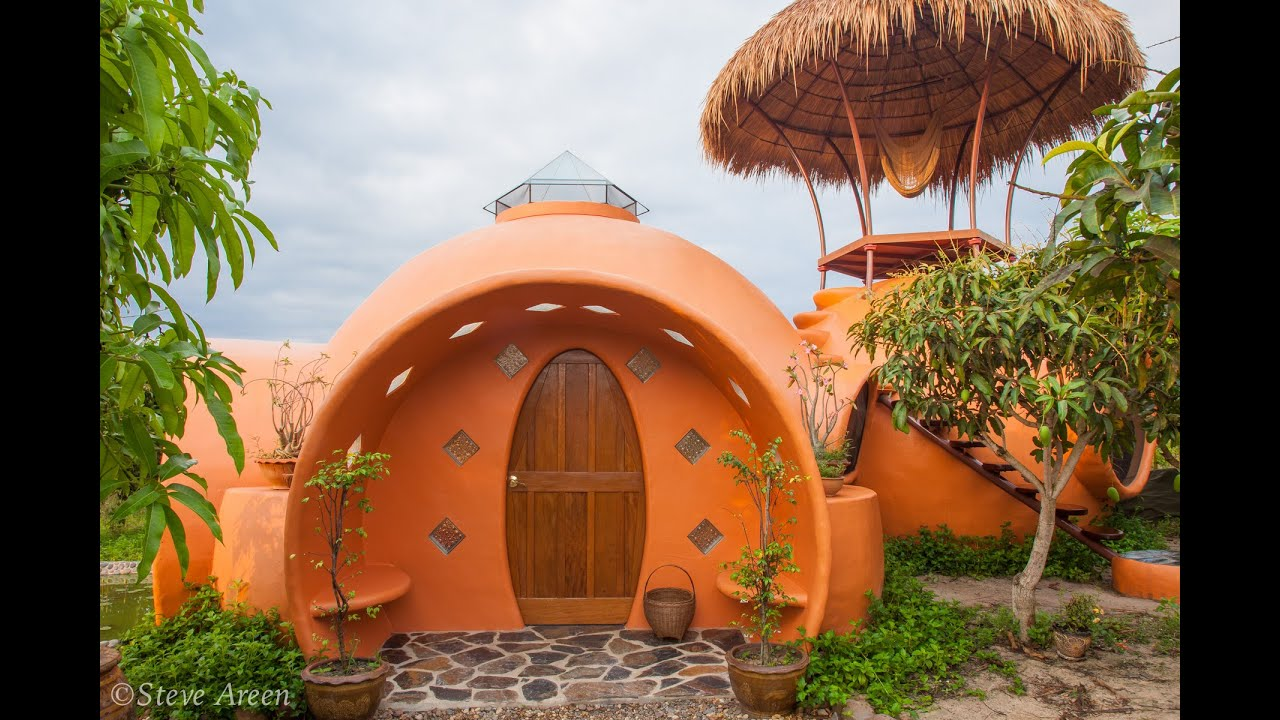 Amazing Dome Home Built For Under $11,000! - YouTube