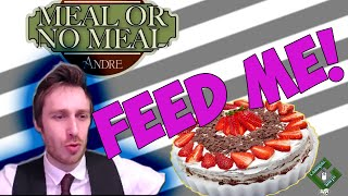 FEED ME! Let's Play Meal or No Meal - Cake, Intestines & Meatballs!
