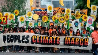LIVE from the Climate March in Washington DC