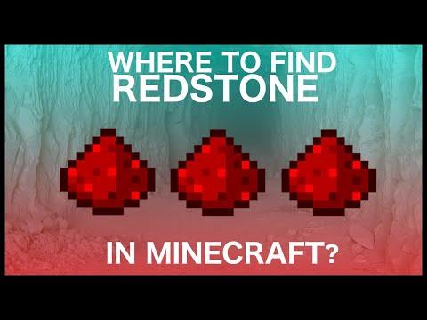 How To Find Redstone In Minecraft?