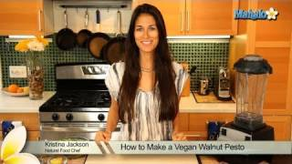 How To Make Vegan Walnut Pesto