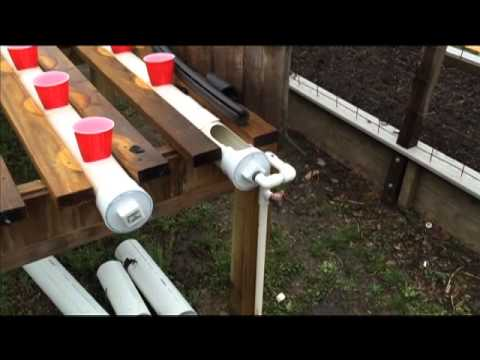 Rggs Rain Gutter Grow System Upgrades And Problems With Float Valves Youtube