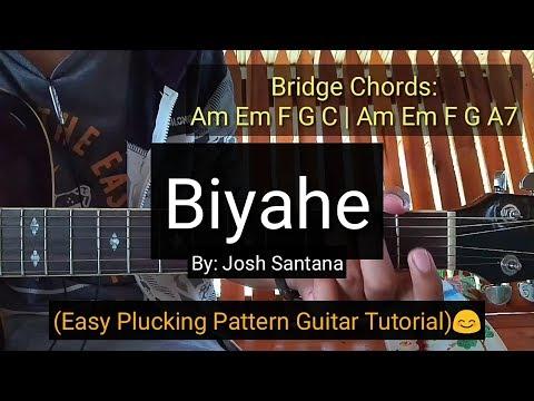Biyahe - Josh Santana (Guitar tutorial)