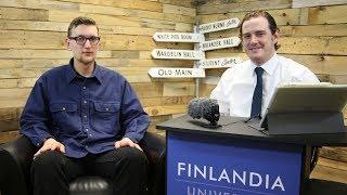 Finnish intern Mika Tompuri talks about experience in United States