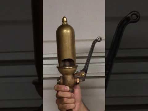 """Lunkenheimer 2 1/2"""" 3 Chime Steam Whistle"""
