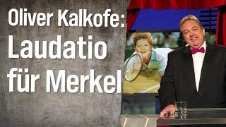 Oliver Kalkofes Laudatio für Angela Merkel
