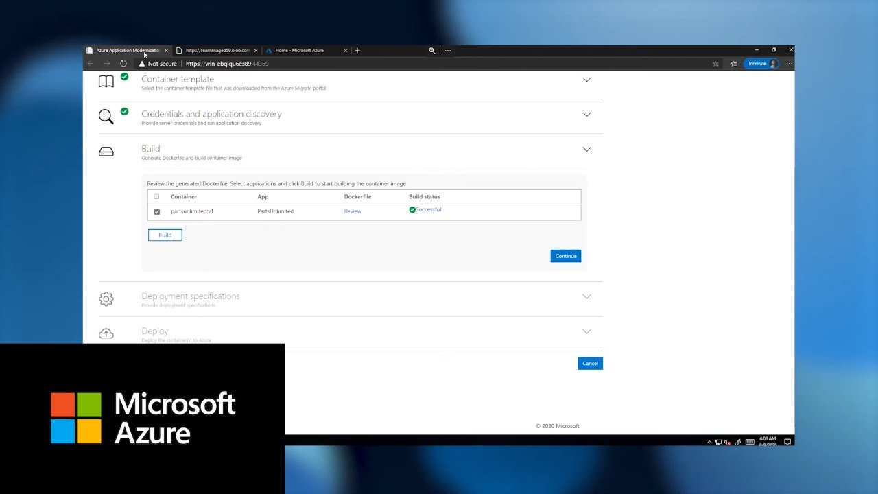 Migrate .NET Apps to Azure Kubernetes Service